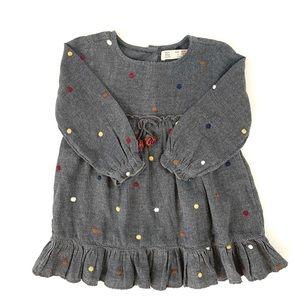 Zara Baby Girl Dot Dress